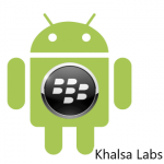 Blackberry and android - Khalsa Labs