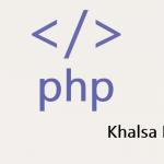 php code - Khalsa labs