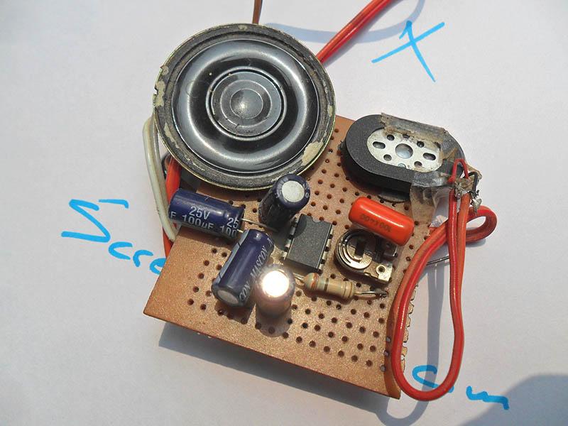 USB Powered Audio Amplifier (DIY)