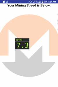 speed score in mobile mining speed test app