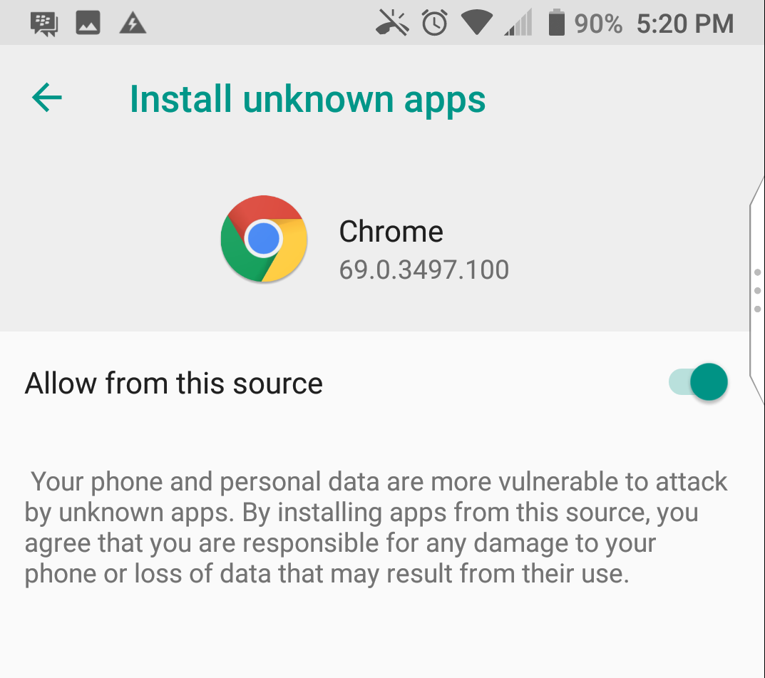 How to install third party apps in android
