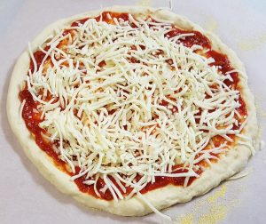 homemade veggie pizza khalsa labs